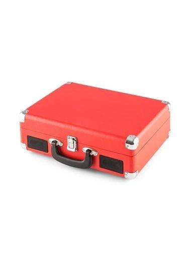 Bludfire BF 4340 Bluetooth Radyolu Plak Çalar Kırmızı